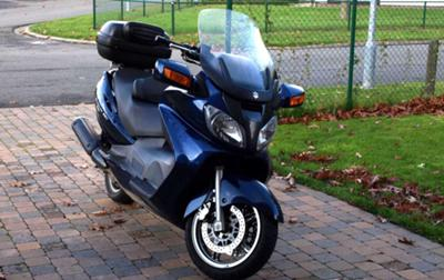 Suzuki Burgman AN650, 2004