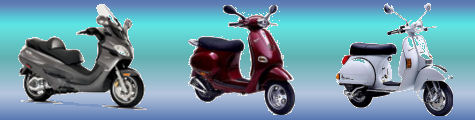 Vespa Scooters Review Banner