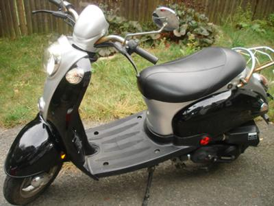 My Jonway scooter