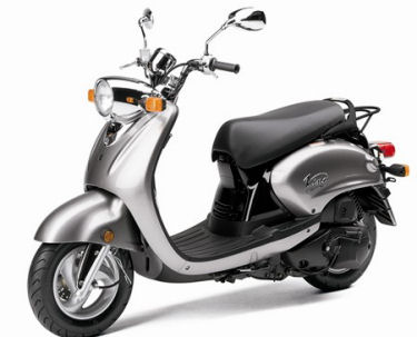 Motor Scooters Review on Yamaha Vino 125 Scooter Review  2005