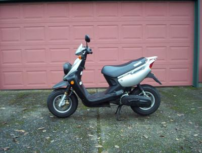 Motor Scooters Review on Yamaha Zuma Motor Scooter Review